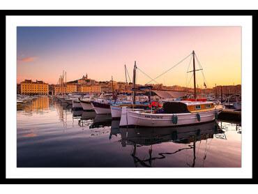 Affiche Marseille , le Vieux Port