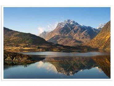 Affiche Montagne et Lac, l île lofoten