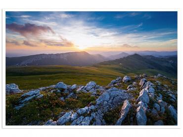 Affiche Au sommet du mont Chiran