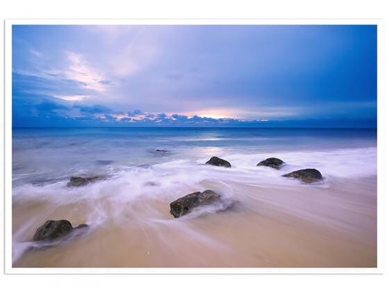 Affiche levée de soleil sur Pulau wehe