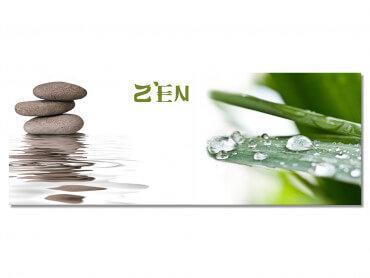 Tableau deco panorama zen