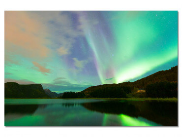 Tableau Paysage Norwayliht Lofoten