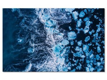 Tableau Deco Iceland Diamond Beach