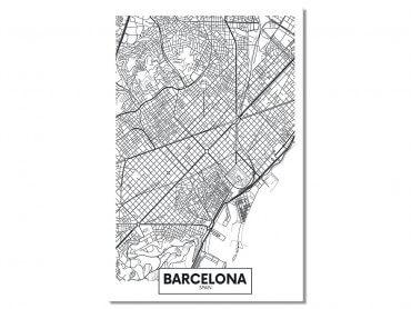 Tableau Deco Graphique Barcelona Spain