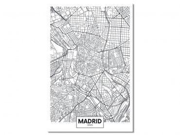 Tableau Deco Graphique Madrid Spain
