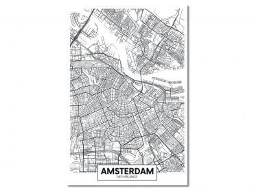 Tableau Deco Graphique Amsterdam Netherlands