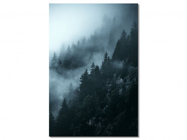 Tableau Paysage Suisse au petit matin