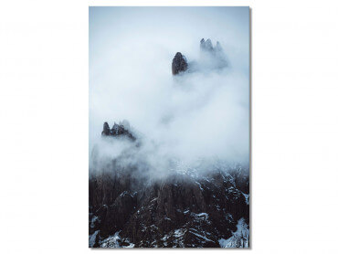 Tableau Paysage Tempête dans les Alpes Suisses