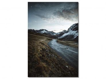 Tableau Paysage sur La route du Galibier