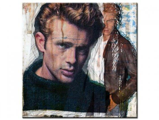 Tableau deco murale james dean