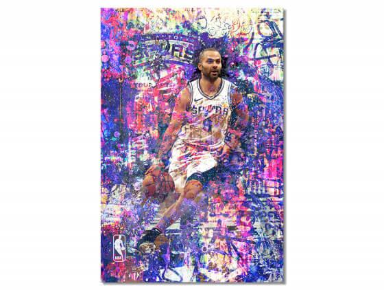 Tableau Deco Tony Parker 09
