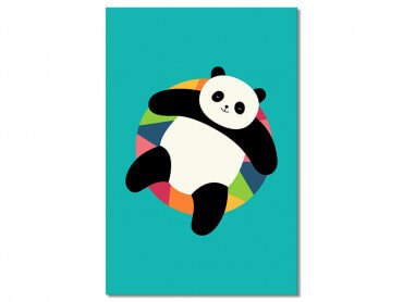 Tableau Enfant Pool Party Panda