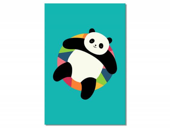 Tableau Enfant Pool Party Panda