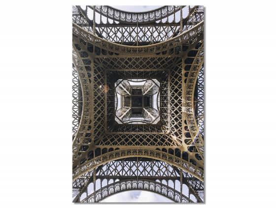 Tableau Photo Eiffel et son Fer