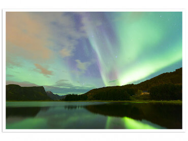 Affiche Paysage Norwayliht Lofoten