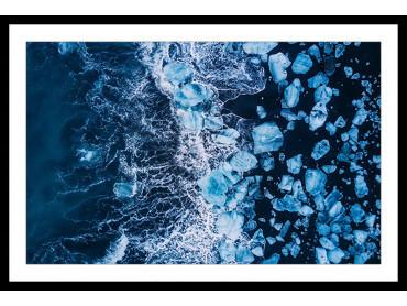 Affiche Deco Iceland Diamond Beach