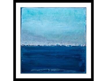 Affiche Abstrait Classic Blue Pantone