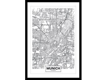 Affiche Deco Graphique Munich Germany