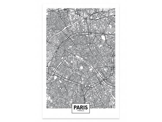 Affiche Deco Graphique Paris France