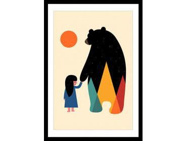 Affiche Enfant Go Home