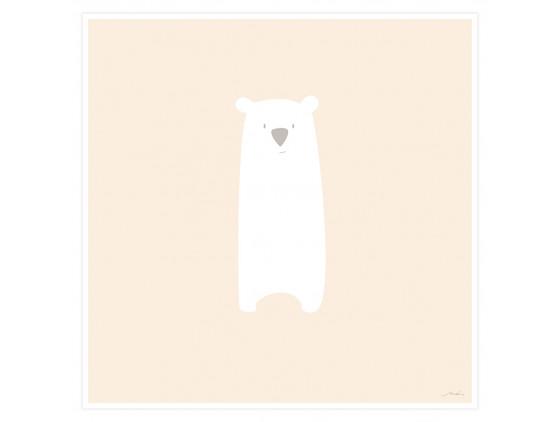 Affiche Enfant Grizzly Mimi