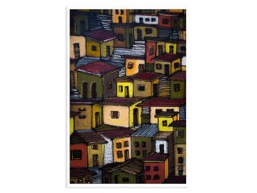 Affiche Deco Peinture Casa In Mexico
