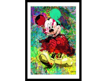 Affiche Graffiti Illustration Mickey