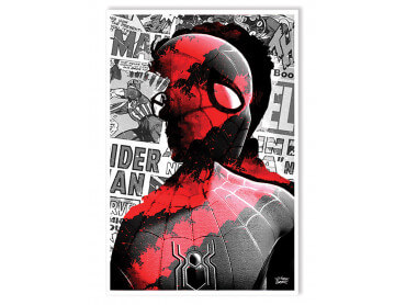 Affiche Graffiti Spiderman