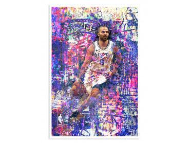 Affiche Deco Tony Parker 09