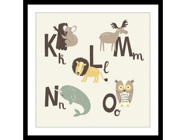 Affiche Enfant KLMNO