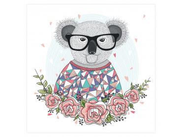 Affiche Enfant Hipster Koala