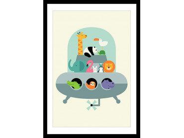 Affiche Enfant Ovni Noah's Ark
