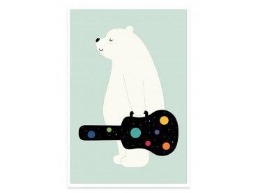 Affiche Enfant Guitar In Hand