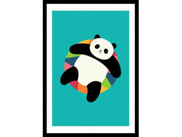 Affiche Enfant Pool Party Panda