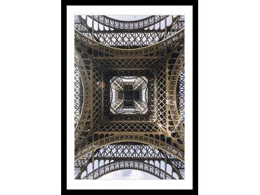 Affiche Photo Eiffel et son Fer