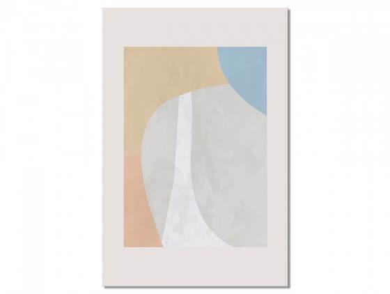 Tableau deco Light beige contempory