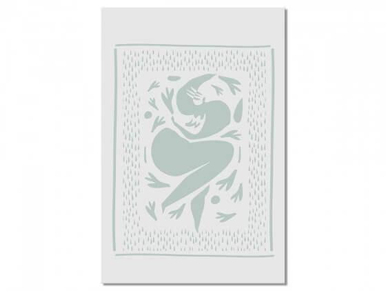 Tableau Deco Graphic body