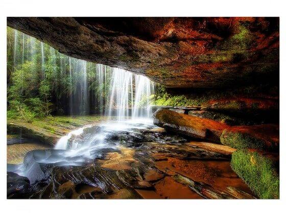 Tableau Nature chute d'eau