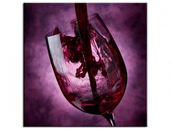 Tableau contemporain déco murale wine