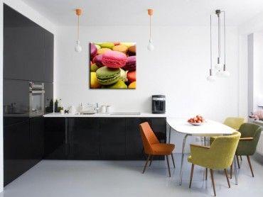 Tableau macaron décoration de cuisine