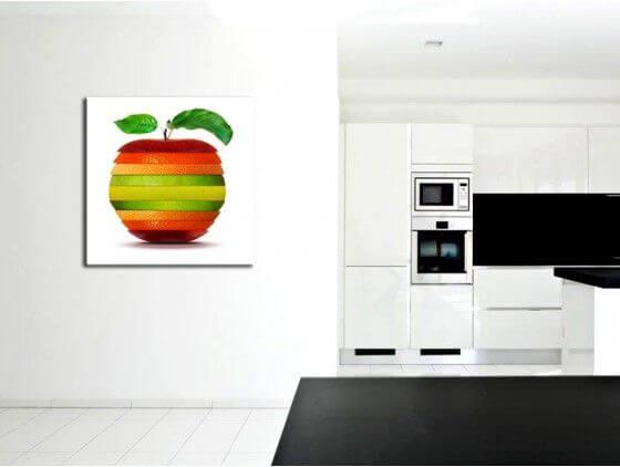 tableau cuisine fruits moderne d co en toile plexi et alu. Black Bedroom Furniture Sets. Home Design Ideas
