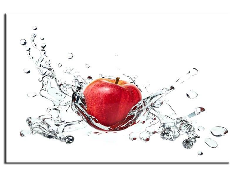 d co murale pour cuisine vente de tableau pomme rouge pas cher. Black Bedroom Furniture Sets. Home Design Ideas