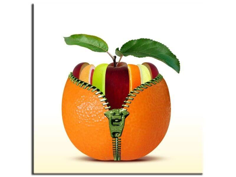 Tableau cuisine et fruits pas cher d coration de cuisine design - Tableau de cuisine moderne ...