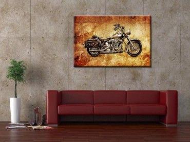 Tableau design vintage Harley davidson