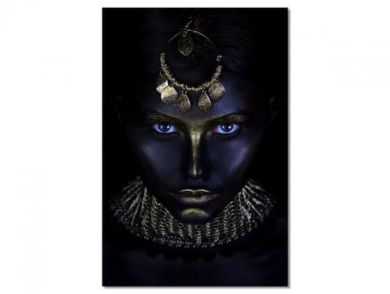 Tableau Photo d'art Gold Queen