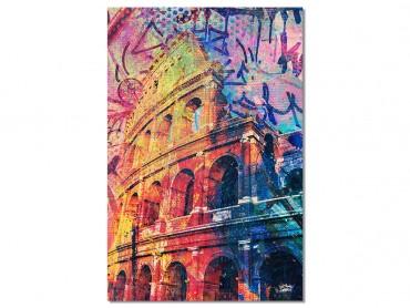 tableau Deco Colisée Pop Art