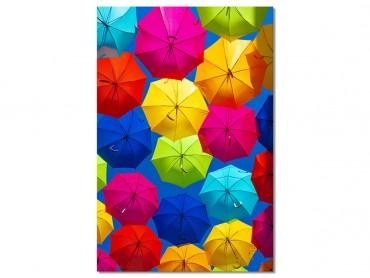 Tableau Deco Ciel de parapluies