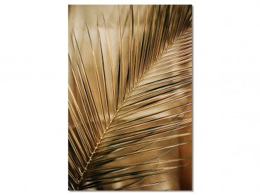 Tableau Deco Golden Palm