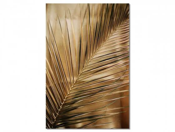 Tableau Deco Golden Palm