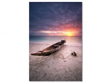 Tableau Paysage Zanzibar sunset